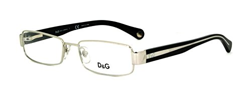 DOLCE & GABBANA D&G 5061 D&G5061 351 SILVER METAL EYEGLASSES GLASSES, - Dolce Rimless And Gabbana Eyeglasses