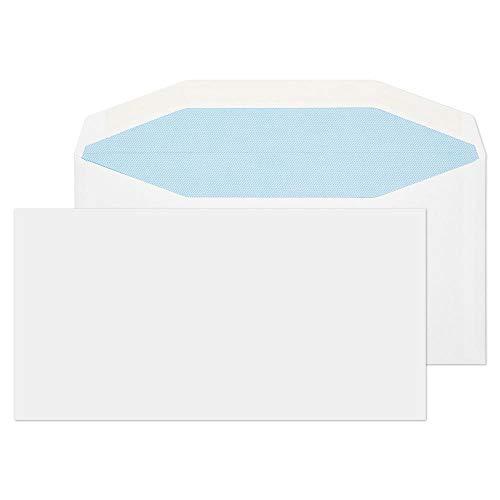 Blake Purely Everyday DL+ 121 x 235 mm Mailer Gummed Envelope - White (Pack of 1000) ()