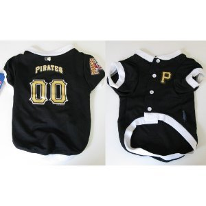 Hunter MFG Pittsburgh Pirates Dog Jersey, Medium, My Pet Supplies