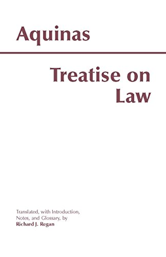 Treatise on Law (Hackett Classics)