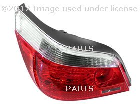 BMW OEM LEFT REAR LIGHT, WHITE TURN INDICATOR, For 525i, 525xi, 530i, 530xi, 545i, 550i, M5 by HELLA