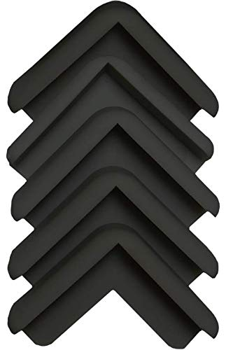 Boing Safety | Mini 2D Rubber Corner Guards | 25 Pack | Black by BOINGSAFETY (Image #2)