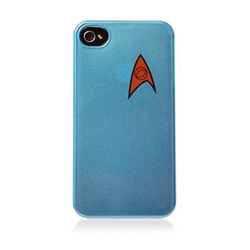 Star Trek Science Division iPhone 4 Case BLUE CASE (Star Trek Iphone 4 Case)