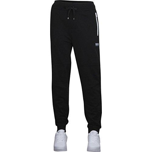 Hugo Boss Men's Long Pant Cuffs 1, Black, - Pants Long Hugo Boss