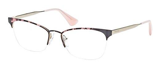 Prada PR65QV Eyeglasses-ROJ/1O1 Pink - Prada 2014 Eyeglasses Mens