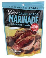 Frontera Carne Asada Marinade with Jalapeno and Garlic -- 6 oz (Best Carne Asada Marinade)