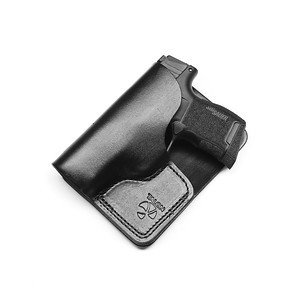 Talon Holsters Compatible Sig Sauer P365 Concealed Carry Cargo Pocket Leather Holster (Black, Left Hand)