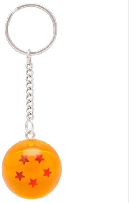 5S) LLavero 3D Dragon Ball Z (5 Estrellas) - Bola de Dragón Z: Amazon.es: Ropa y accesorios