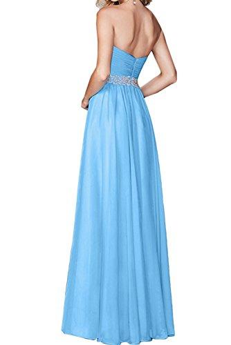 Linie Ivydressing Abendkleider Partykleider Lavendel A Damen Promkleid Chiffon Herzform Ballkleid qqAa4Urt