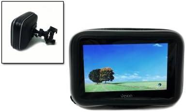 Vexia VXMAC045 - Funda impermeable y soporte universal para GPS de hasta 5 pulgadas para moto y bici, color negro: Amazon.es: Electrónica