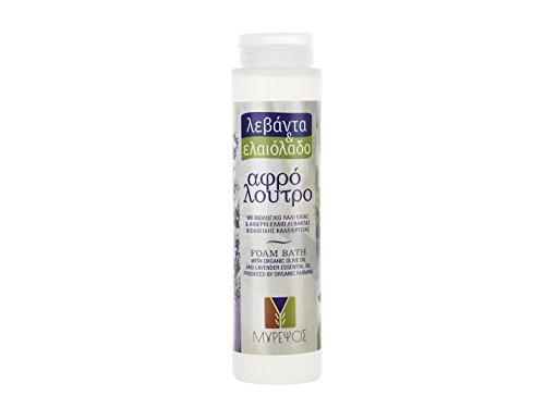 Olive Bath Foam - Myrepsos lavender &olive oil foam bath