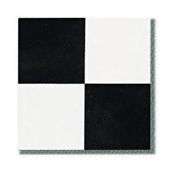 45 Pieces 12x12 Vinyl Stick On Tiles Villa Nova Black And