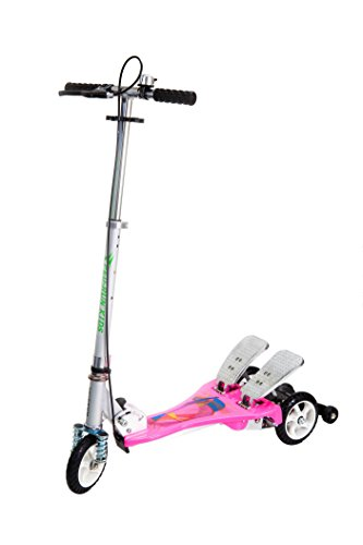 (Maple's Clock Ped-Run Kids Scooter, Pink, One Size)