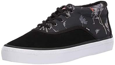 Globe Men's Sprout Mid Skate Shoe Black/Typhoon 5 M US