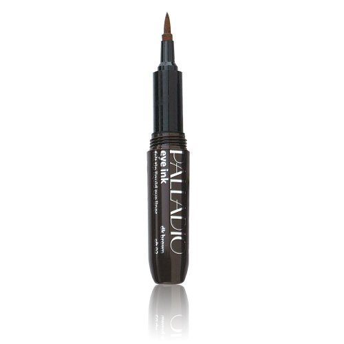 Palladio Eye Ink Liquid Eyeliner Pen, Dark Brown, 0.04 Ounce