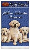 Fiddler's Elbow Yellow Labrador Retriever - Kitchen Towel Puppies