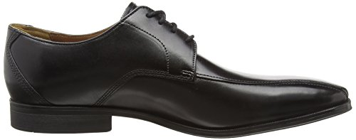 Mode Derby Gilman Nero Leather Black Uomo Clarks aHBfUwqA