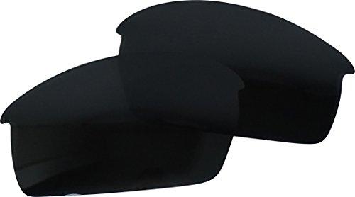 Powersports Mirror Cap - ReVive Optics BOT2-P-M-BKC Replacement Lens For Oakley Bottlecap (Polarized Black Chrome Mirror)
