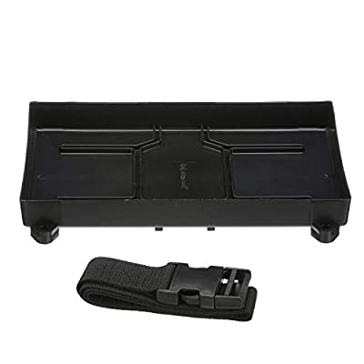 Attwood Battery Tray- 24 Series, black, 12-3/8