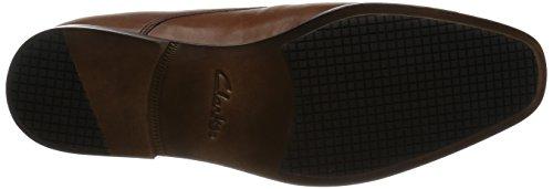Clarks 2611_Amieson Walk, Scarpe Stringate Uomo Nero Various Marrone (Tan Leather)