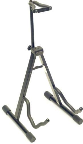 """Stagg Model SG-A008NH BK Black """"A Frame"""" Guitar Stand with Locking Neck Holder"""