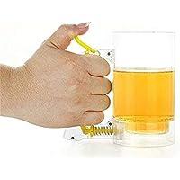 Pudincoco Beer Foamer Mug Novedad Sparkling Beer Mug