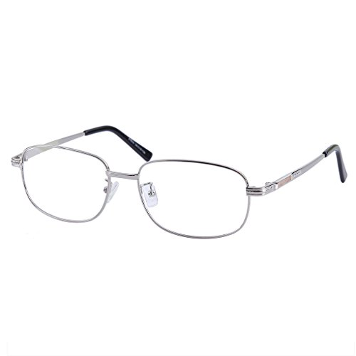 Southern Seas -6.00 Distance Glasses Myopia Silver Color Frame Full Rim Unisex Stylish Spectacles