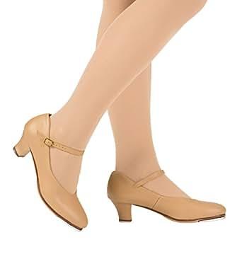 "Adult 1.5"" Heel ""Baby Louis"" Character Tap Shoes,T9800BLK10.5M,Black,10.5M"