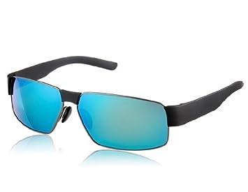 Monel Alloy 8259 hombres y TR90 marco blanco y azul REVO cubiertos de resina lente gafas de sol elegantes M.: Amazon.es: Deportes y aire libre