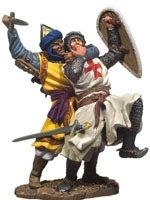 Hand to Hand Combat The Templars Black Hawk Toy Soldier