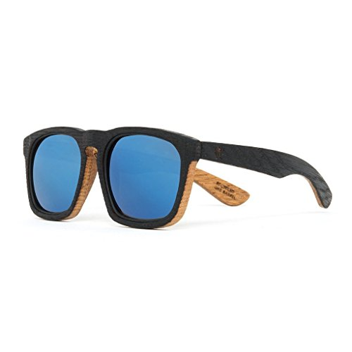 Reclaimed Wood Sunglasses from Whiskey Barrels - Woodzee x Maker's Mark - Sunglasses Whiskey Barrel