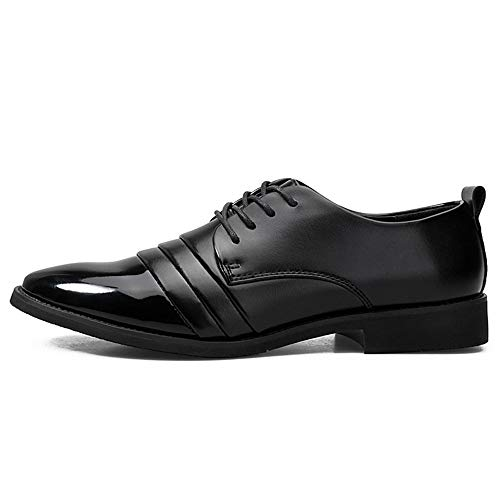 di Color un in pelle business Xiaojuan da Scarpe da Pelle Oxford del cortile lavoro casual 40 Nero shoes stile Nero Scarpe Uomo EU nuova Dimensione uomo casual normale zecca meno AAqaw6WS