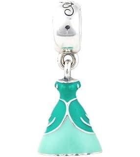 a65de7597 Amazon.com: DISNEY RAPUNZEL'S DRESS PANDORA MAGENTA LILAC ENAMEL ...