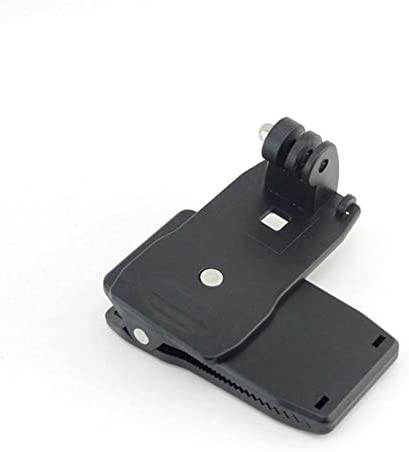 360° Degree Rotary Backpack Rucksack Hat Clip Clamp Mount for GoPro Hero 2 3 3