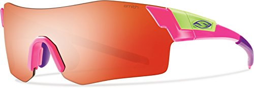 Smith Optics Pivlock Arena Sunglasses (Reactor Pink, Red - Sunglasses Max Pivlock V2 Smith