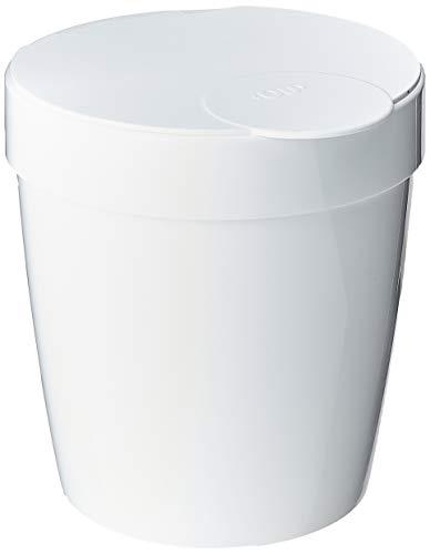 Lixeira Com Capacidade Branca Polipropileno