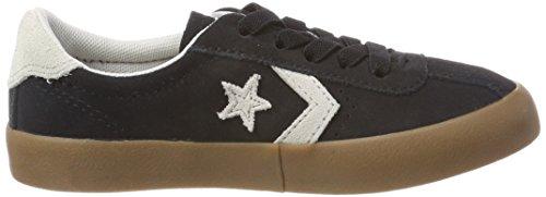 Converse Breakpoint OX, Zapatillas Unisex Niños Schwarz (Black/Pale Putty/Gum)