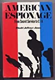 img - for American Espionage: From Secret Service to CIA book / textbook / text book
