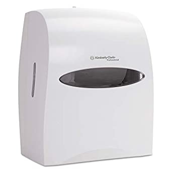 Kimberly-Clark profesional 09993 Windows Touchless rollo dispensador de toallas, 12 63/100 W x 10 1/5d x 16 13/bigdug, color blanco: Amazon.es: Amazon.es