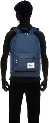 Herschel Classic 6 Pockets: 1 exterior Pockets: 2 exterior