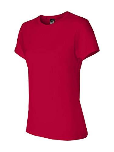 Hanes Women's Nano T-Shirt, XX-Large, Deep Red -