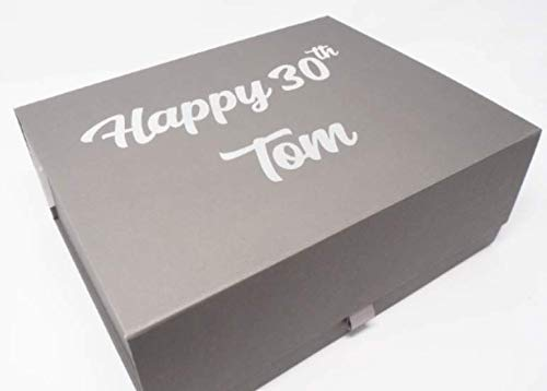 Personalised Birthday Gift Box With Name And Age Personalized Gift