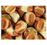 Gold & Orange Mini Reese's Peanut Butter Cups Candy 5LB Bag by Reese's