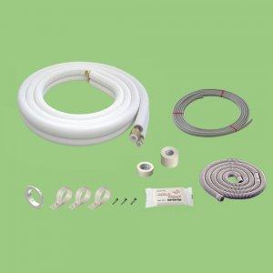 関東器材 5巻セット 配管セット(電線入り 部品入り) 2分3分 3.5m 35P-203SP_set B008AOA4OU