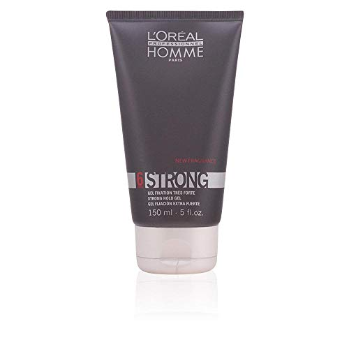 L'Oreal Homme Strong Hold Gel 6 - 5 oz ()