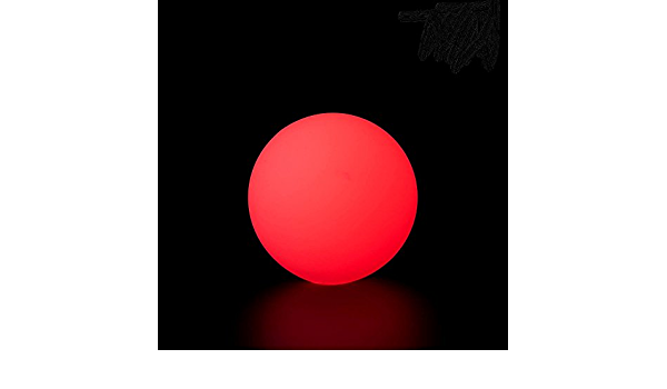 70 MM 150 GR Details about  /PLAY LED GLOW BALL