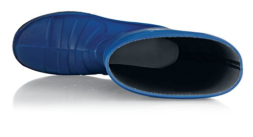 Taille Chaussures Crews Bottes Pu 11 Pour Bleu Unisexe Sentinel YYrUOwq