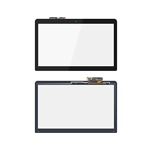 LCDOLED 15.6 inch Replacement Touch Screen Digitizer Front Glass Panel + Touch Control Board for ASUS Q504UA-BBI5T12 Q504UA-BHI5T13 (NO Bezel)