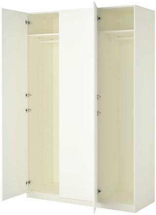 Ikea Pax Ante Scorrevoli Istruzioni Montaggio.Ikea Armadio Bianco Ballstad Bianco 14382 81123 2018 Amazon It