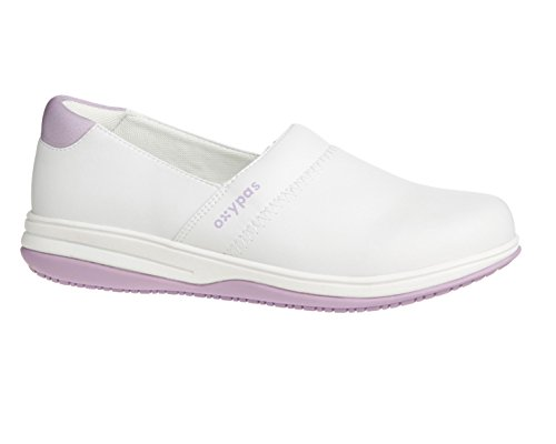 Oxypas Suzy, Women's Safety Shoes, White (Fux), 5 UK (38 EU) blanco - White (Lic)